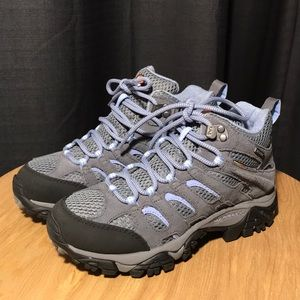 Merrill Moab Mid Size 6 Grey/periwinkle